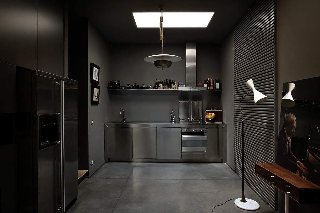 Дизайн квартир в темном
